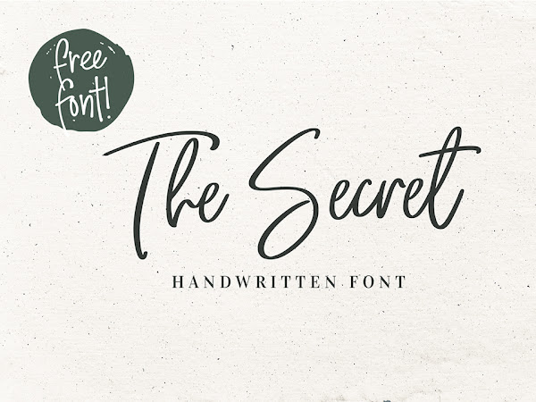 The Secret Handwritten Script Font Free Download