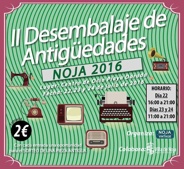 II Feria Desembalaje de Antigüedades Noja 2016.