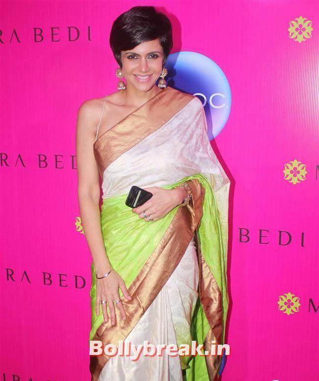 Mandira Bedi, Mandira Bedi Sari Store Launch Photos