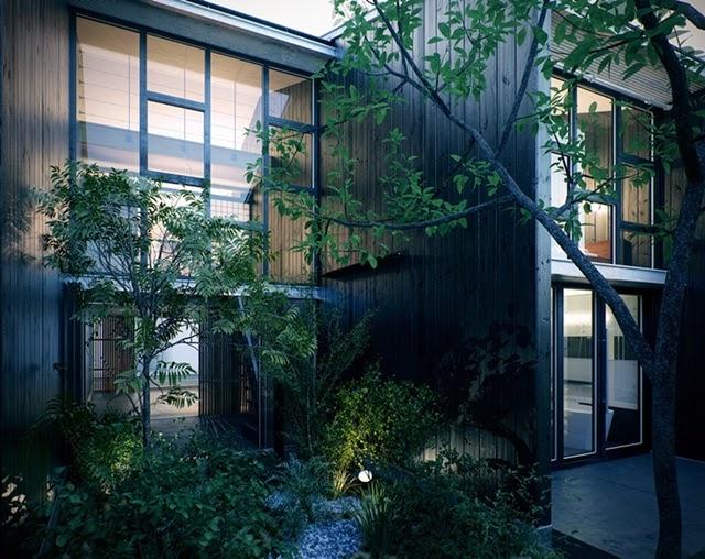 Rumah Minimalis Modern Jepang