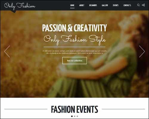 Fashion Blog Premium Responsive Joomla Template
