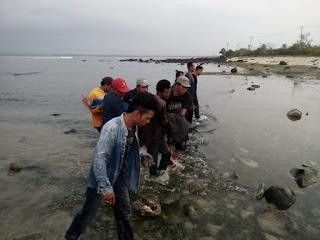 (Foto) Warga Kalianda Tenggelam Ditemukan