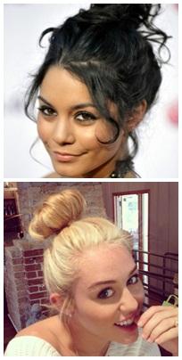 coque alto; vá de coque; penteado; coque é penteado