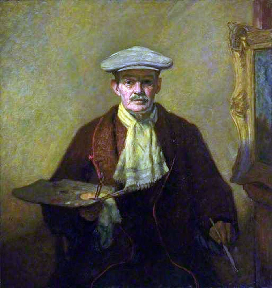 William Strang, Portraits of Painters, Fine arts, Self-Portraits