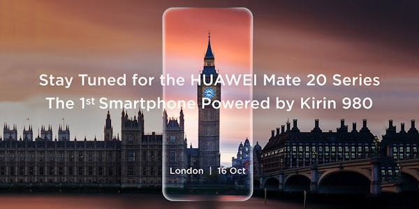 Huawei Mate 20 'series' announcement scheduled for October 16