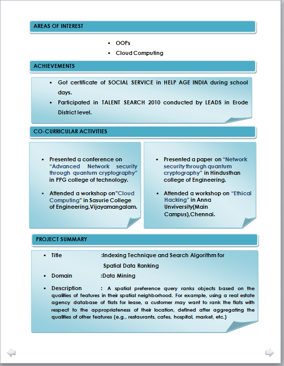 resume format for electrical engineers fresher