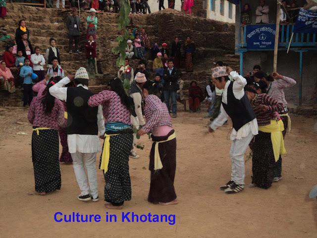 Cultural Programme in Khotang