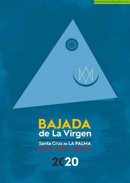 Cartel oficial de las Fiestas Lustrales de la Bajada de la Virgen de las Nieves 2020