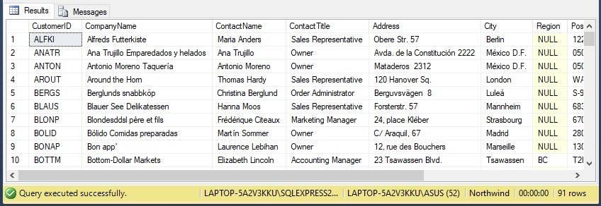 Perintah Select biasanya dipakai untuk menentukan atau menyeleksi suatu data dari sebuah d (Part 3) Belajar Perintah Select di SQL Server