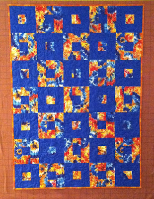 All Boxed In, Charity, Donation Quilt