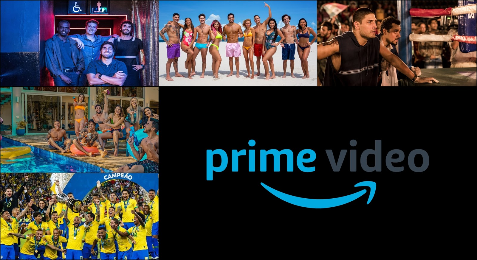 Séries Brasileiras para assistir na Amazon Prime Video