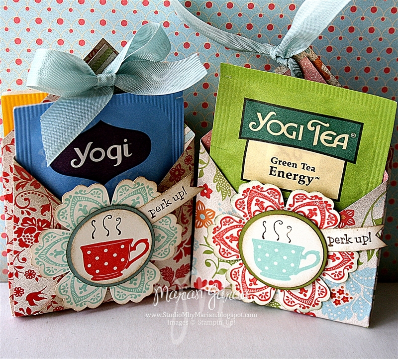 Studio M by Marian: How To: Tea for YOU Tea Bag Holder