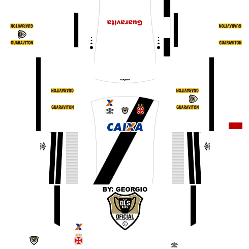 Dream League Soccer Kits  Vasco 15 16 - DLS16   FTS - By  Georgio ... d5309159fa0e8