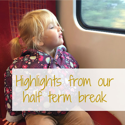 Highlights from our half term break including messy play, Staunton Country Park, Tudor House and Garden, and the Family Travel Show