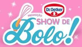 Promoção Show de Bolo Dr. Oetker