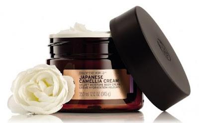 The Body Shop Spa Of The World Japanese Camellia Cream Velvet Moisture Body Cream