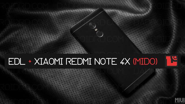 Jika kalian sedang mengalami duduk kasus terkait gagalnya flashing secara biasa melalui metod Nih Cara masuk ke EDL atau Download Mode pada Xiaomi Redmi Note 4X (Mido)