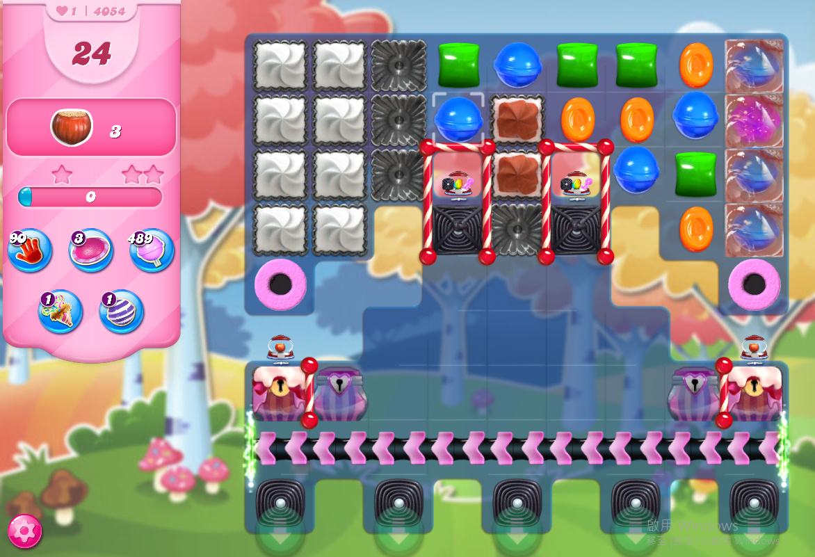 Candy Crush Saga level 4054