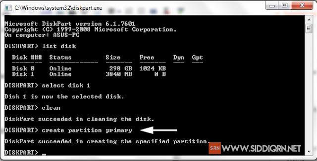 Cara Membuat Flashdisk Bootable Tanpa Software