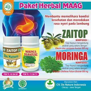 obat maag kronis De Nature di Aceh Barat Daya