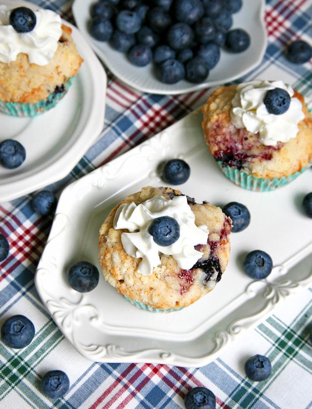 Blueberry Muffins. Yum!