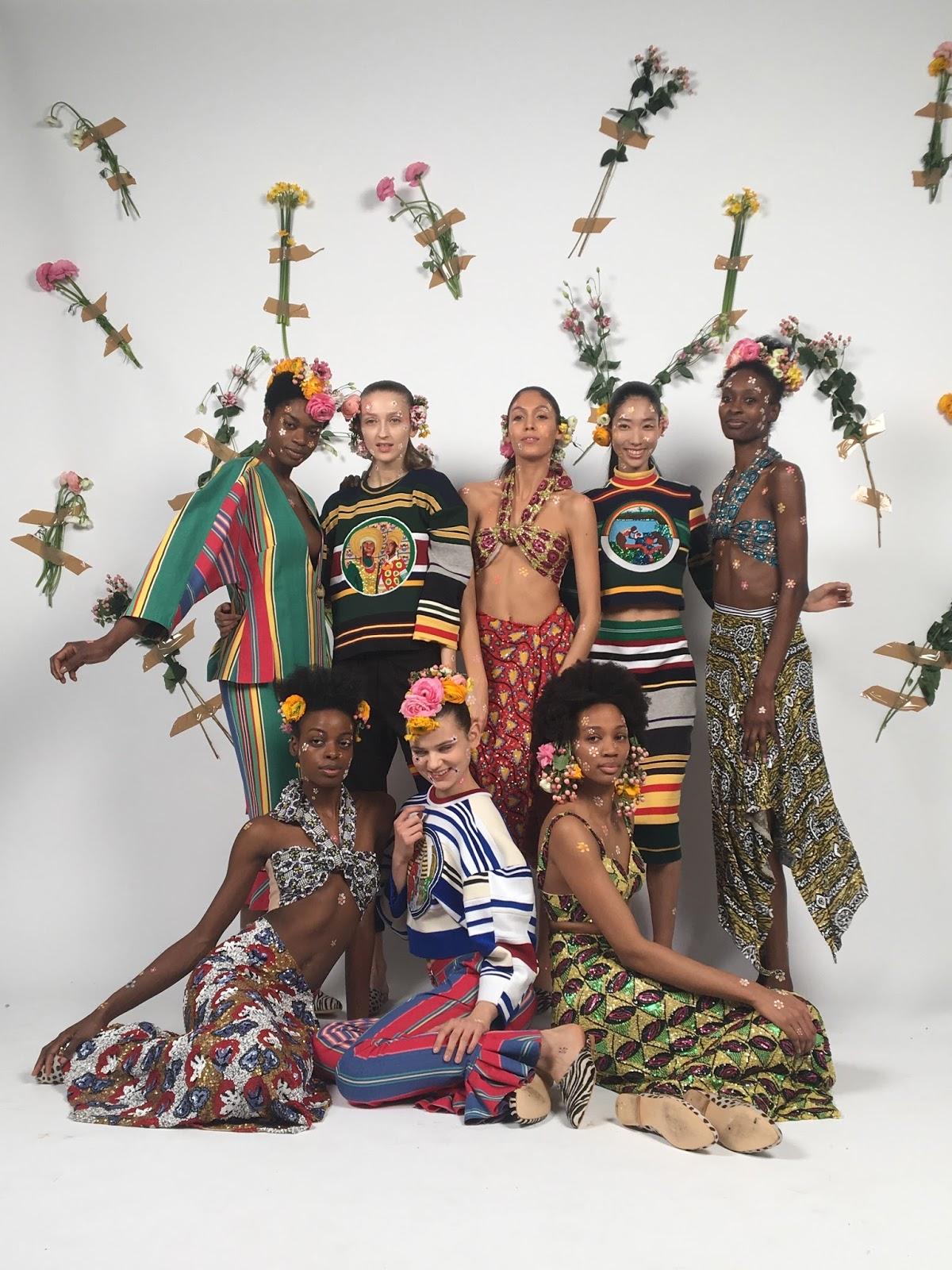 Tata Naka Autumn / Winter 2018 Presentation for London Fashion week
