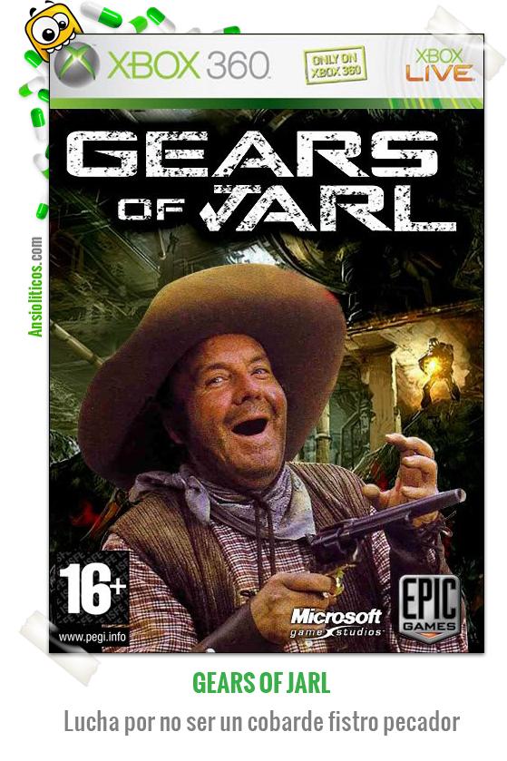 Chiste de un Videojuego llamado Gears of Jarl