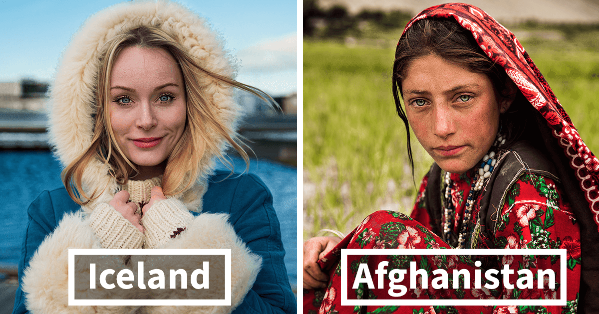 Photographer Took Pictures Of Women From All Over The World And Amazed Everyone With Their Beauty And Uniqueness!