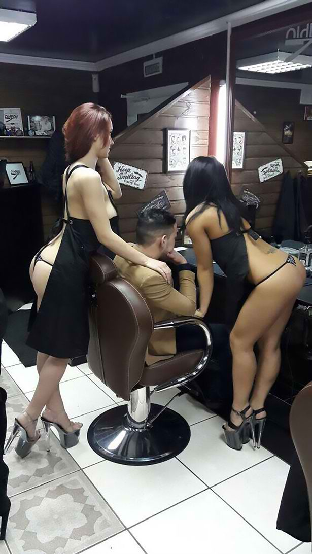 This Barber Shop is Full of Half-Naked 'Hair Stylists!' - Read Here For All the Juicy Details!