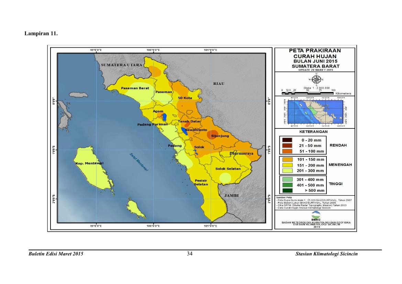 Pusdalops PB Provinsi Sumatera Barat: PRAKIRAAN CUACA DAN ...