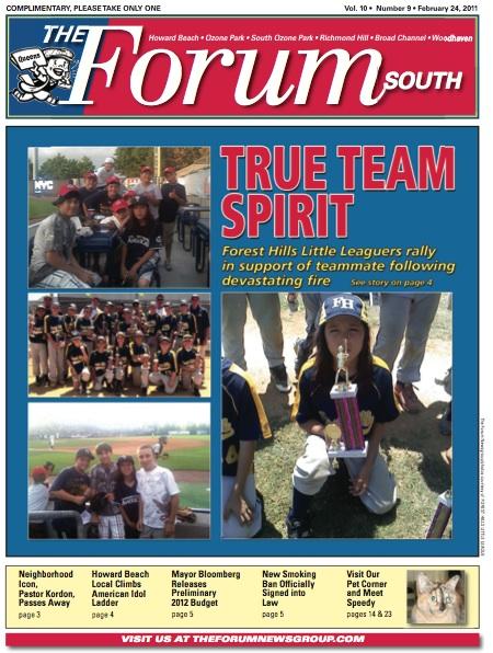 Forum News: Feb 24, 2011