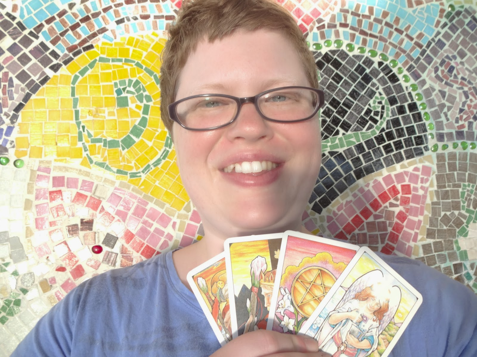 Profile picture with my cards
