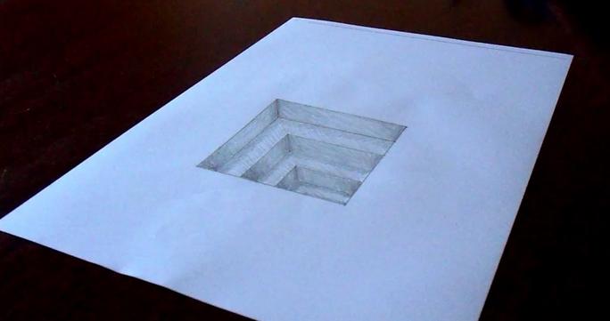 Cara Membuat Lukisan 3d Dengan Sederhana Dan Mudah Pada Kertas
