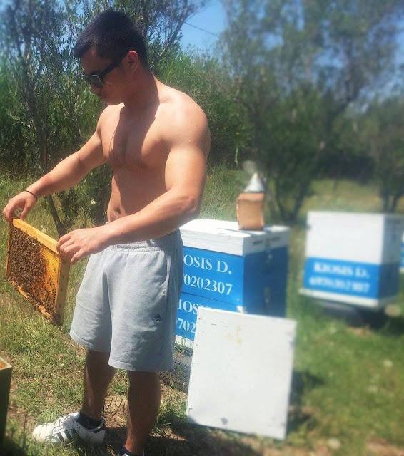 Δημήτρης Κιόσης...Ένας Αθλητής Μελισσοκόμος (Φωτογραφίες και βίντεο)