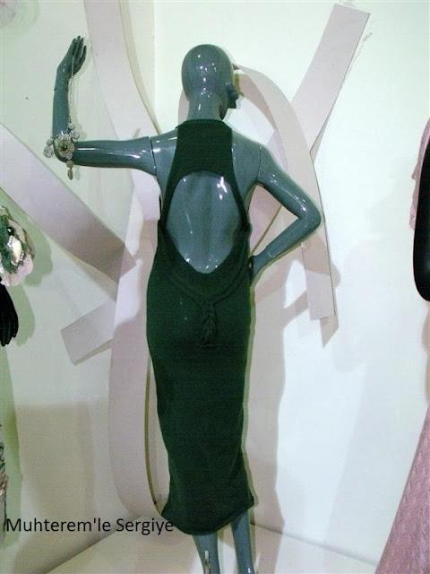triko abiye elbise