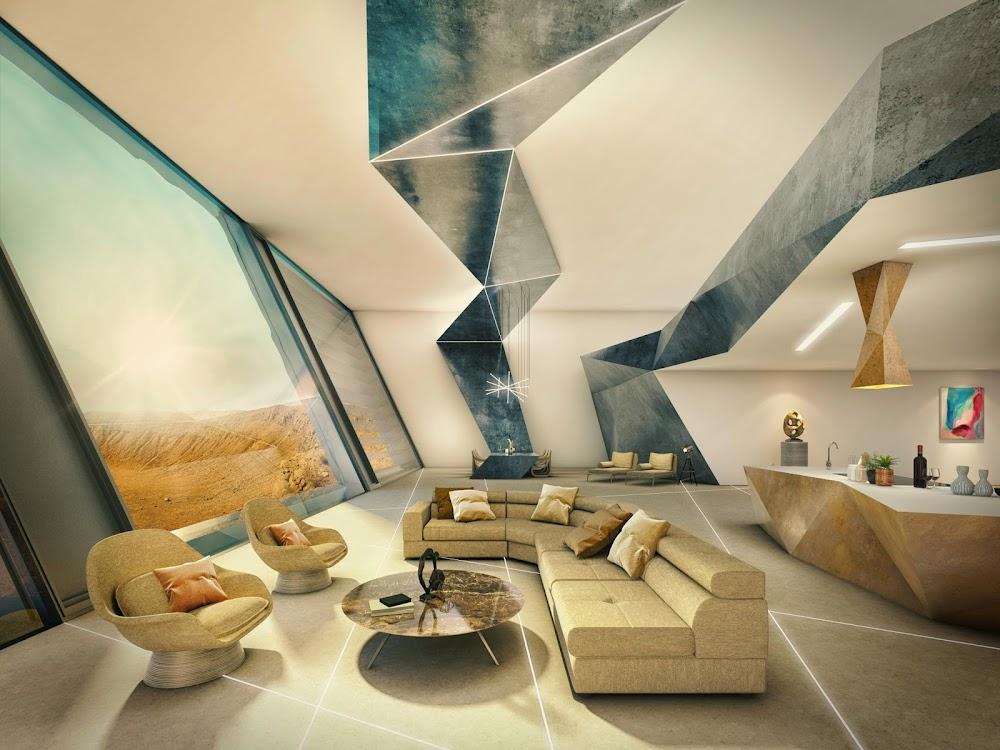 Mars mansion interior (The Sun)