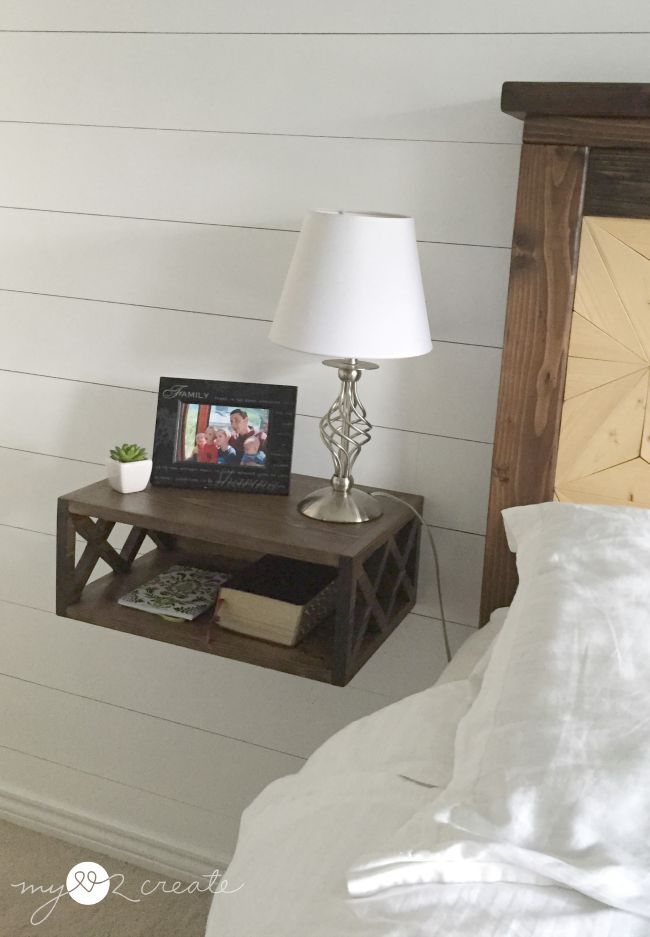 Floating Night Stand | My Love 2 Create