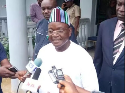 Image result for PDP welcomes Governor Ortom to party