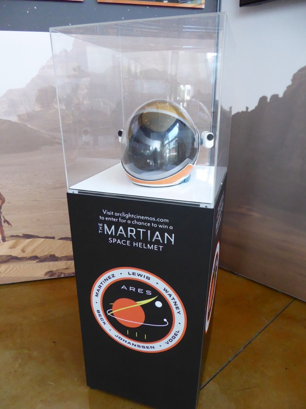 The Martian space helmet