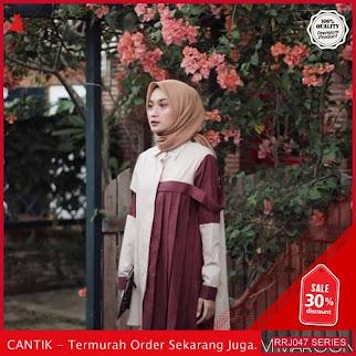 Jual RRJ047A199 Atasan Muslim Wanita Arisha Top Sy BMGShop