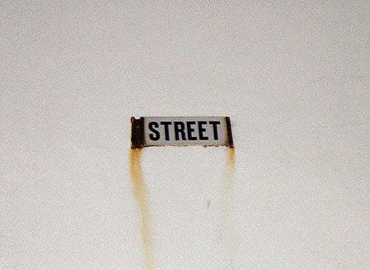 street, sign, urban, photography, contemporary, photo, Sam Freek