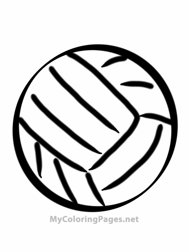 free coloring pages sports ball | Free Sports Balls Coloring Pages