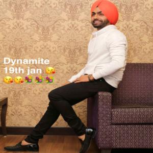 Dynamite Lyrics - Ammy Virk Song