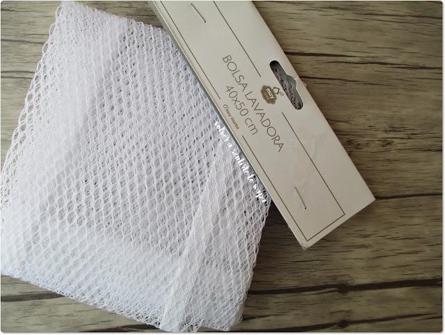 Bolsa de rejilla para meter  la ropa en la lavadora