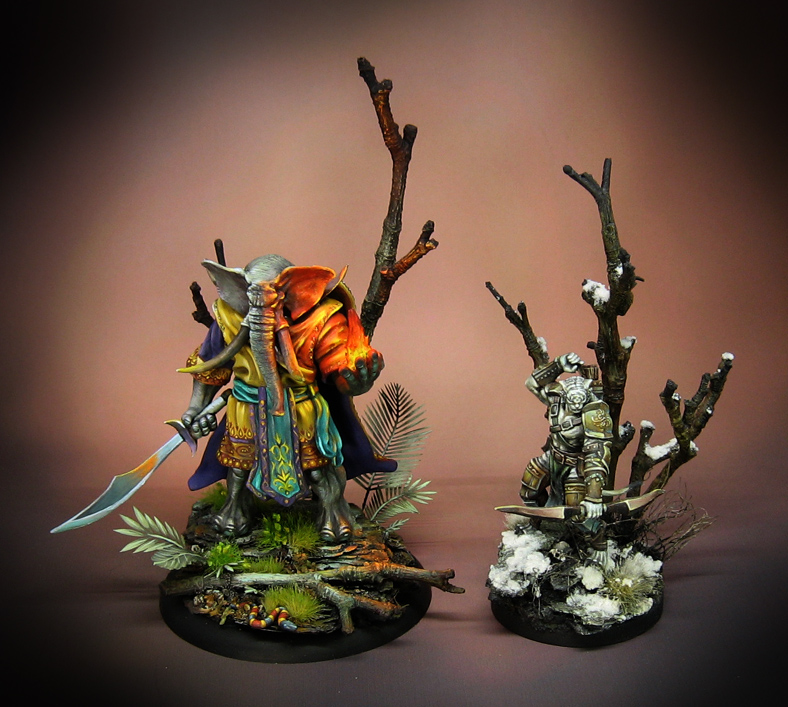 Warriors Fire And Ice Episode 4: James Wappel Miniature Painting: Fire And Ice