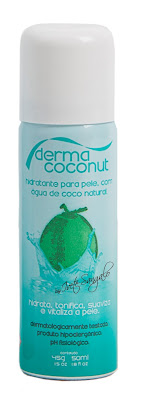 Dermacoconut by Ivete Sangalo Spray Hidratante para Pele com Água de Coco Natural - 50 ml