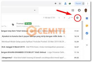 Membuat Tanda Tangan pada Gmail di Komputer