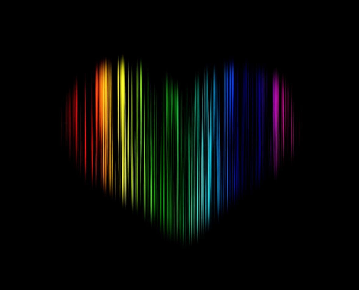 abstract rainbow background wallpaper black - photo #5