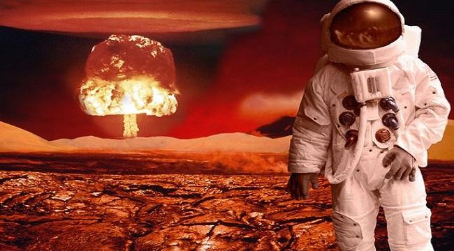 Πυρηνικός πόλεμος διεξάγεται στον Άρη; φωτογραφίες από το ISRO δείχνουν πυρηνικό μανιτάρι!