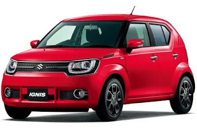 2017 Maruti Ignis SUV Red image